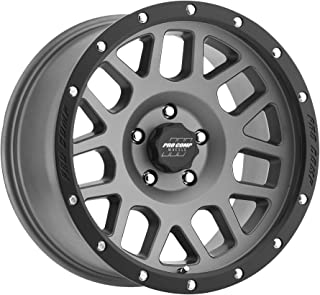 Pro Comp Alloys Series 40 Vertigo Dark Gray Wheel (17 x 9. inches /5 x 5 inches, -6 mm Offset)