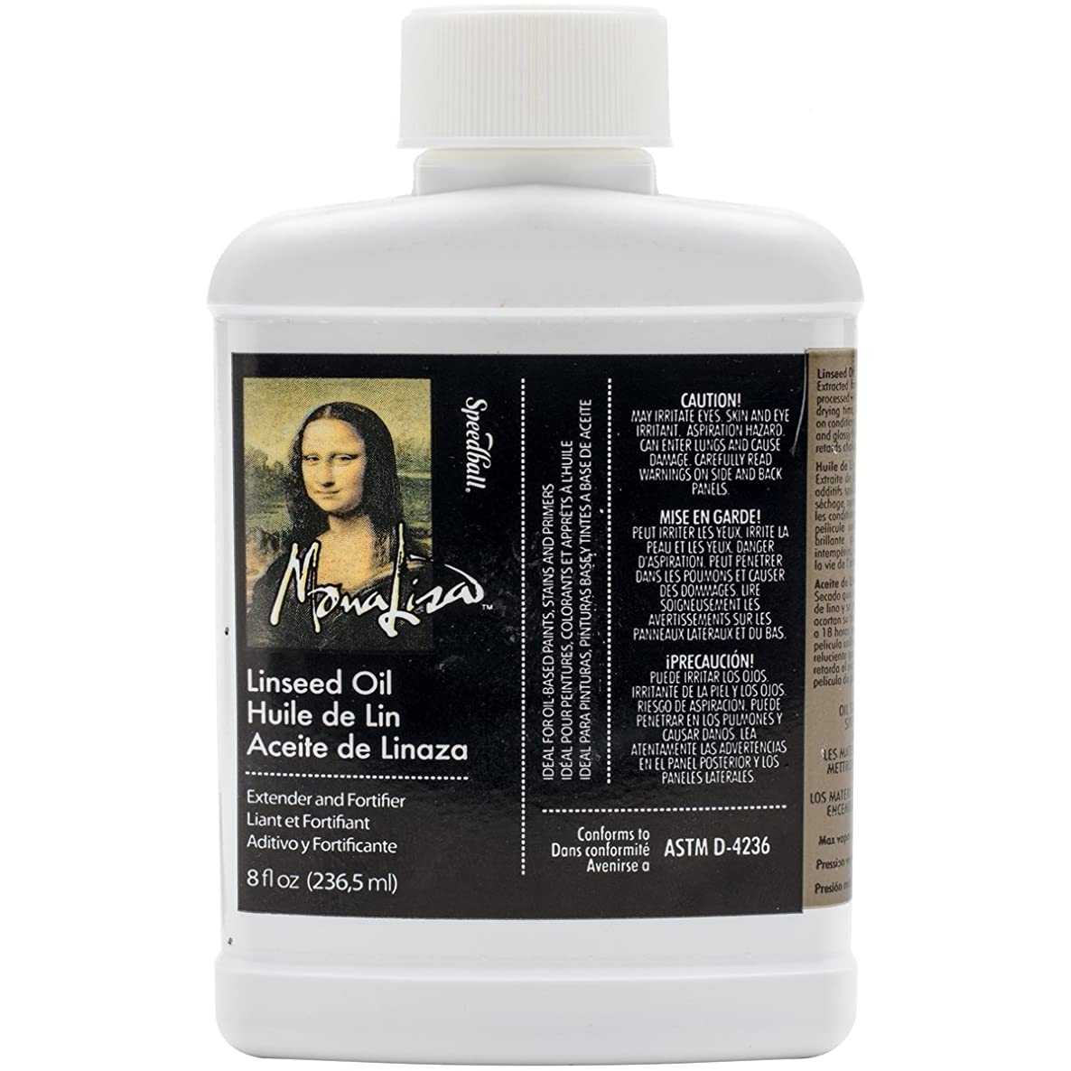 Speedball 8-Ounce Mona Lisa Linseed Oil itgnngqxalhvy1