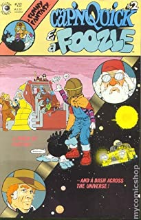 CAP'N QUICK AND A FOOZLE #2, VF/NM, Eclipse 1984 1985 more Indies in store