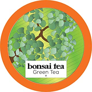 Bonsai Tea Co. Green Tea, Compatible with 2.0 Keurig K Cup Brewers, 40Count