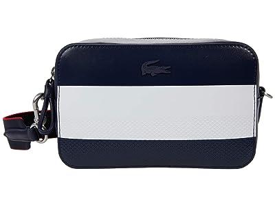 Lacoste Chantaco Color-Block Crossbody Bag