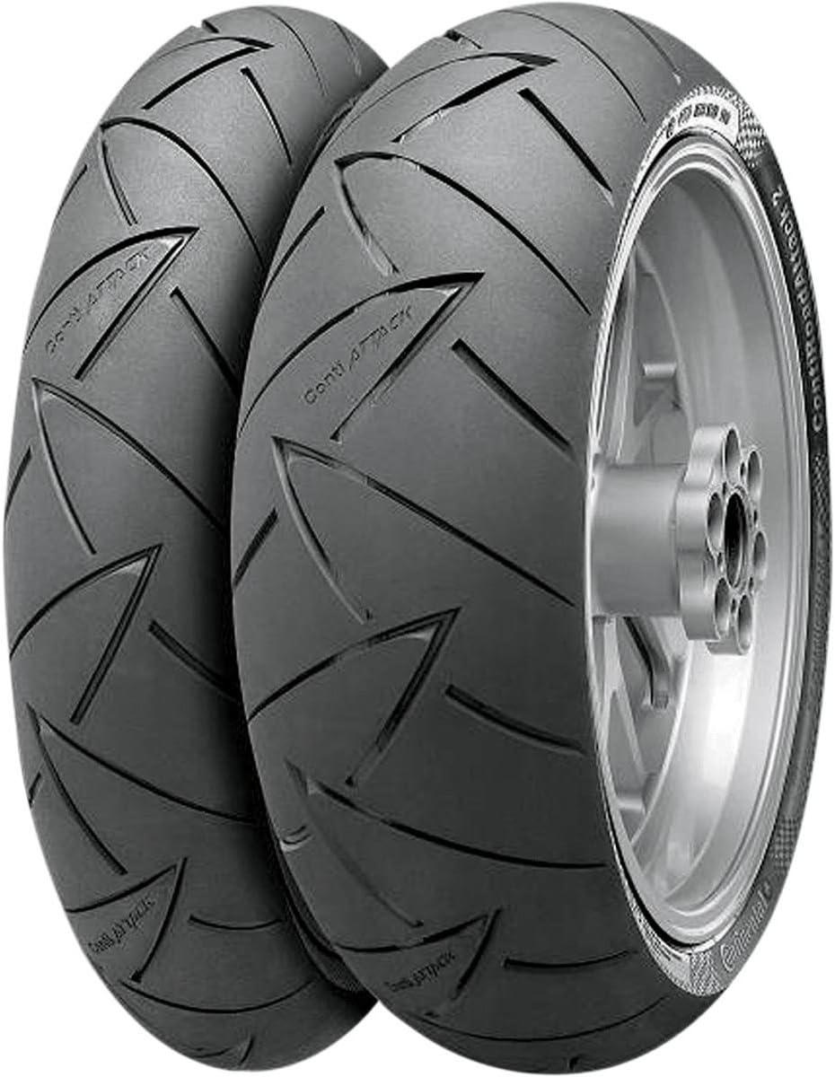 Continental Conti Road Attack 2 EVO Hyper Sport Touring Tire 150//70R-17 Rear
