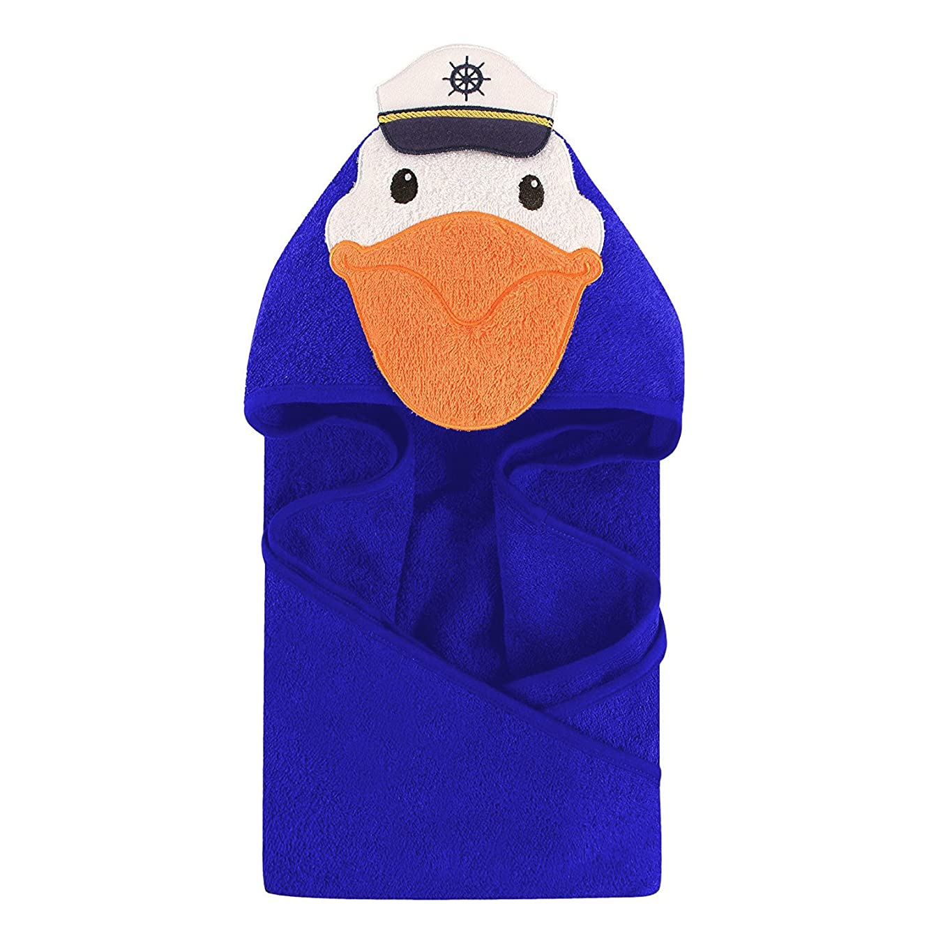 shivam agencies Quality Supersoft Baby Towel/blanket (ROYALBLUE)