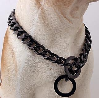 63 pollice di lunghezza 0,32 pollici Wide resistente corda del cane in pelle di spessore con gancio forte collare di rame medie Cani Gatti Rantow marrone intrecciata in pelle Pet Walking Guinzaglio per piccole