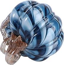FOMIYES 1Pcs Hand Geblazen Pompoen Creatieve Glas Pompoen Ornamenten Pompoen Desktop Ornament Voor Oogst Thanksgiving Hall...