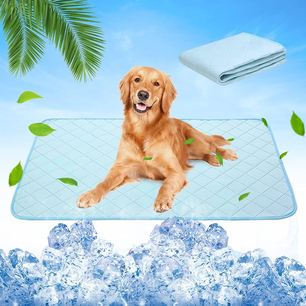 Dog Self Cooling Fresno Mall Mat - Pads Chill Dogs for Pet Max 75% OFF Washable