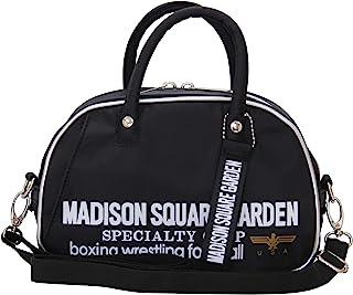 MADISON SQUARE GARDEN ミニボストンショルダー マジソンバック マディソンバッグ レディース 斜めがけ 斜め掛け オシャレ 使いやすい 軽量