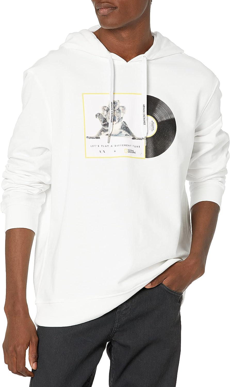 AX Armani Exchange Men's National Geographic Limited Edition Hoodie Sweatshirt