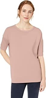 Daily Ritual Amazon Brand Women's Supersoft Terry Slouchy Short-Sleeve Sweatshirt