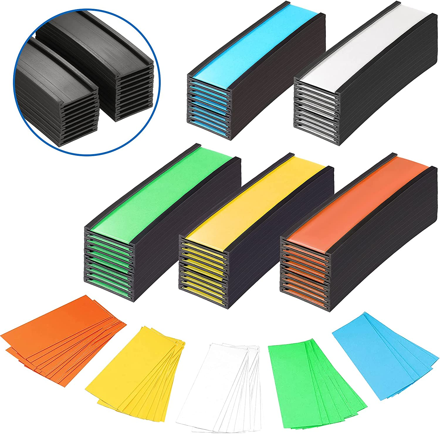 20 Pieces Magnetic Label Holders Hol Card Low price Colorful Data