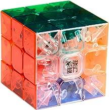 Y&J MoYu 3x3 1 X 3x3x3 YJ Yulong Stickerless Cube Puzzle, Transparent