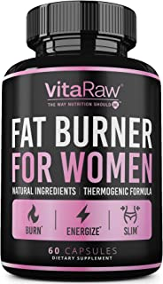 Weight Loss Pills for Women [ #1 Diet Pills That Work Fast for Women ] The Best Fat Burners for Women - This Thermogenic F...