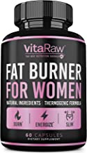 Weight Loss Pills for Women [Diet Pills for Women ] The Best Fat Burners for Women - This Thermogenic Fat Burner is a Natu...