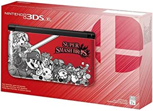 Nintendo 3DS XL Super Smash Bros Limited Edition Console - Red (Renewed)