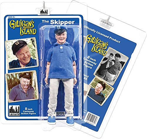 Gilligan's Island Series 1 The Skipper 8 Action Figure [8] by Gilligan's Island