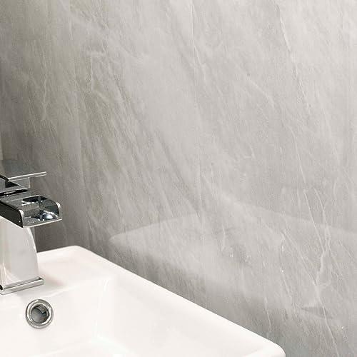 Astonishing Bathroom Wall Panels Amazon Co Uk Home Interior And Landscaping Ymoonbapapsignezvosmurscom