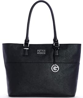 G by Guess Tote Bag for Women - Black, VY153823 BLA