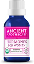 Hormones for Women Organic Essential Essential Oil from Ancient Apothecary, 15 mL - 100% Pure and Therapeutic Grade Blend of Clary Sage, Ylang Ylang, Thyme and Geranium Rose