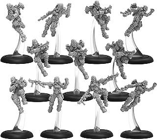 Privateer Press PIP37013 Golden Crucible Guard Rocketmen Unit (14) Metal/Resin Miniature Game