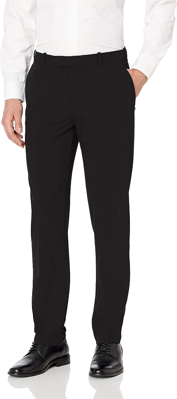 SALENEW very popular Van Heusen Men's Flex Max 42% OFF Flat Straight Fit Front Pant