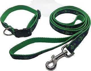 shamrock dog collar and leash