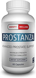Prostanza by Dignity Bio-Labs: Prostate Health Supplement for Men - Reduces Frequent Urination, Made w/Beta...