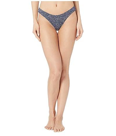 Roxy Print Beach Classics Full High-Leg Bikini Bottoms (Mood Indigo Chaos) Women