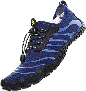 comprar comparacion Lvptsh Zapatos de Agua para Hombre Zapatos de Playa Zapatillas Minimalistas de Barefoot Secado Rápido Calcetines de Piel D...