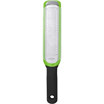 OXO Good Grips Etched Zester and Grater, One Size, Green