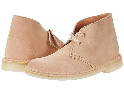 Clarks Desert Boot (Sandstone Suede) Women