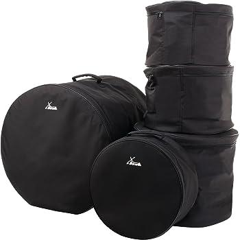 """XDrum Classic Borsa Custodia porta tamburi e piatti per batteria: 22"""" 16"""" 13"""" 12"""" 14,5"""""""