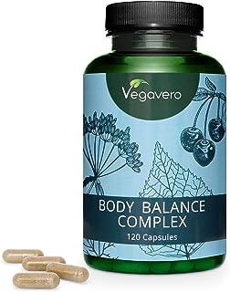 Body Balance Vegavero® | 120 Cápsulas | Hinojo + Aesculus Hippocastanum + Ortiga + Cereza + Abedul | Suplemento Natural | Sin Aditivos