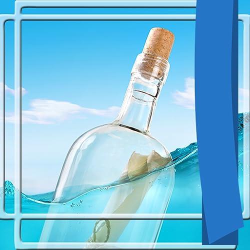 Frames fotográficos de garrafas