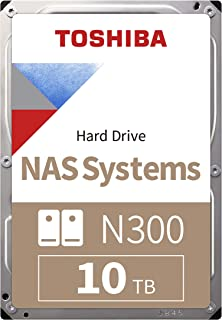 "Toshiba N300 10TB NAS 3.5"" SATA HDD 'Bulk' (HDWG11AUZSVA)"