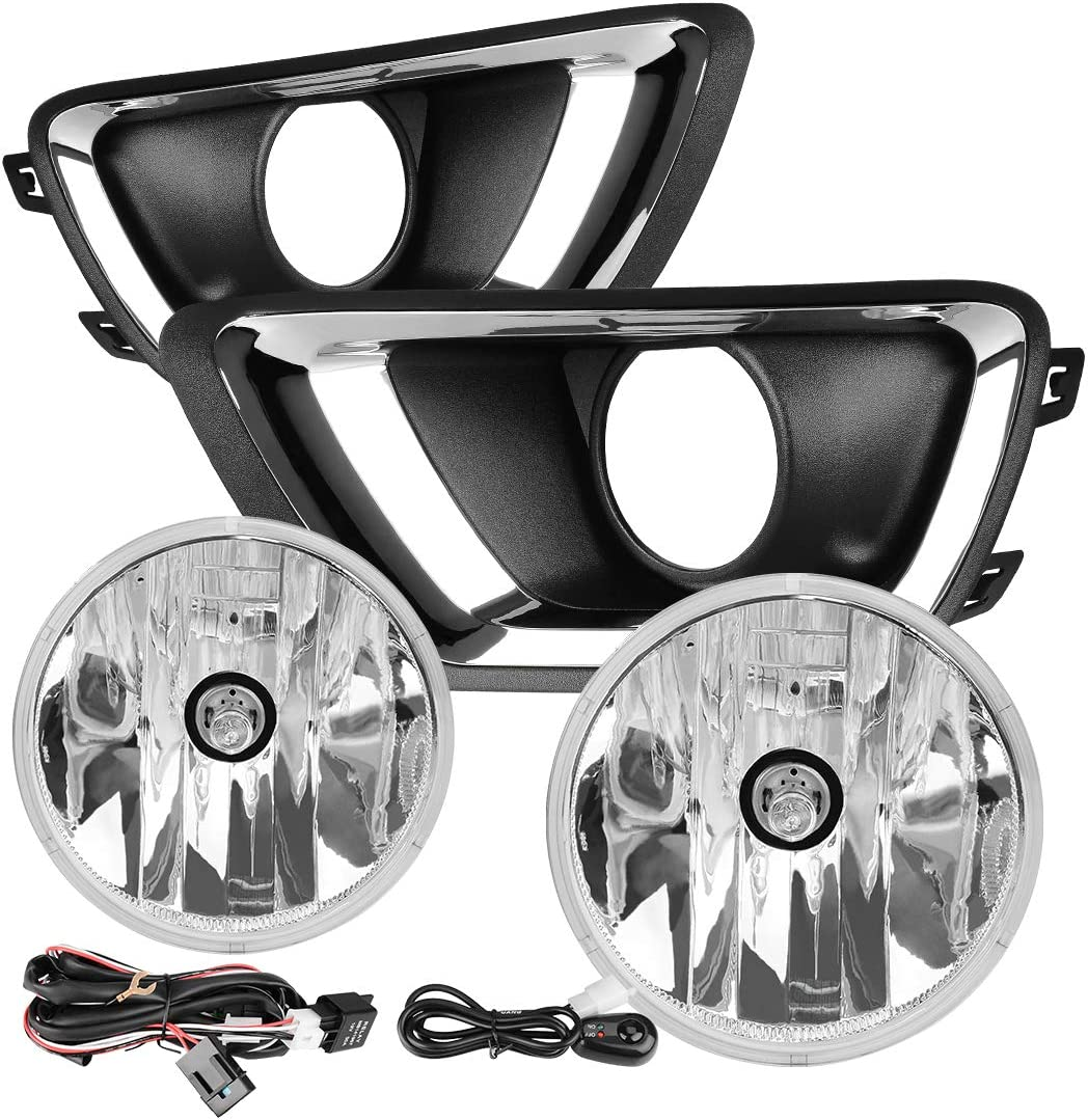 Overseas parallel import regular item AUTOSAVER88 Fog Lights Compatible Chevy 2015-2019 with Genuine Colorado