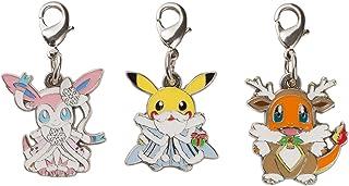 ポケモンセンターオリジナル メタルチャーム3個セット Pokémon Frosty Christmas