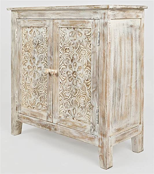 Jofran Hand Carved Accent Chest