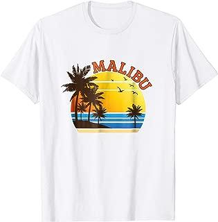 Malibu Rum CA California Beach T-Shirt Surf Travel Souvenir