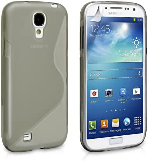 Phone Cases for Samsung Galaxy S4, Samsung Galaxy S4 Case [Clear] Rugged Drop Impact Resistant Skin IV i9500 Tough Strong Protective Soft Jelly Shell Cover Skin Cases by Cable and Case?