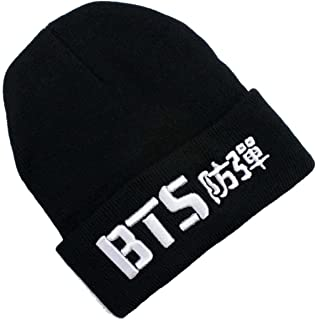 Dolpind Kpop BTS Beanie Hat Love Yourself Hat V Jimin Suga Jungkook Knitted Hat Bangtan Boys 3D Knitted Hatmerchandise Merch