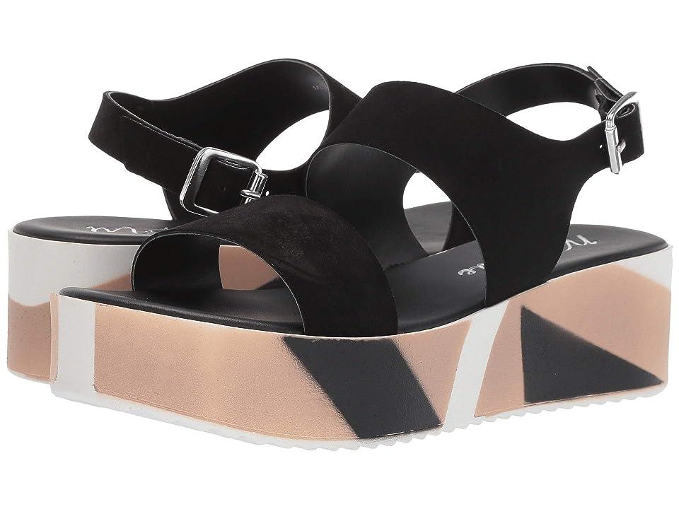 Matisse Geo Platform Sandal (Black) Women