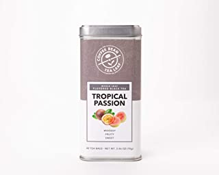 The Coffee Bean & Tea Leaf 4 Pack Tea, Tropical Passion, 20 Count