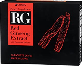 Sponsored Ad - Umeken Good Morning RG - Red Ginseng Extract Paste with Zedoary (30 Packets)
