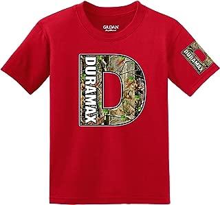 Duramax Camo Logo with Sleeve T-shirt