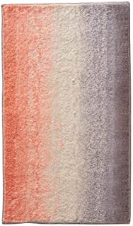 iDesign Ombre Microfiber Polyester Bath Mat, Non-Slip Shower Accent Rug for Master, Guest, and Kids' Bathroom, Entryway, 34