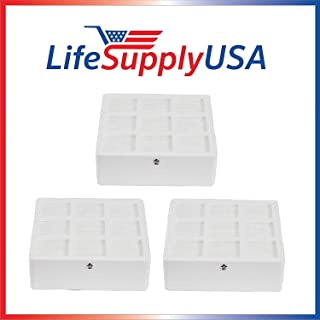 LifeSupplyUSA 3 Pack Aftermarket Replacement HEPA Filter Compatible with IQAir HyperHEPA H12 H13 Health Pro HealthPro Plus Models 102 14 14 00