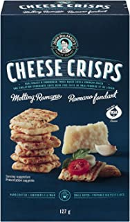 John Wm. Macy's Melting Romano Cheesecrisps, 127 Grams