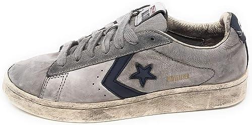 scarpe converse leather uomo