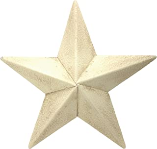 Country House Off White Aged Barn Star 6