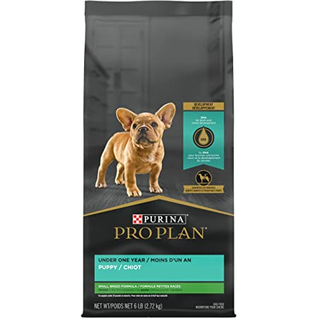 Purina Pro Plan Small Breed Chicken & Rice Puppy Dry Dog Food (Packaging May Vary)